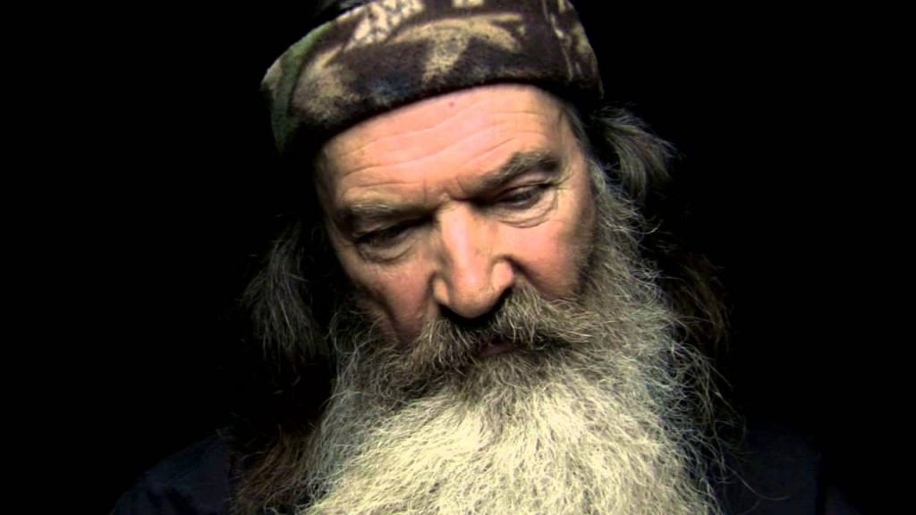 "Duck Dynasty's Phil Robertson says ""I am Second"""