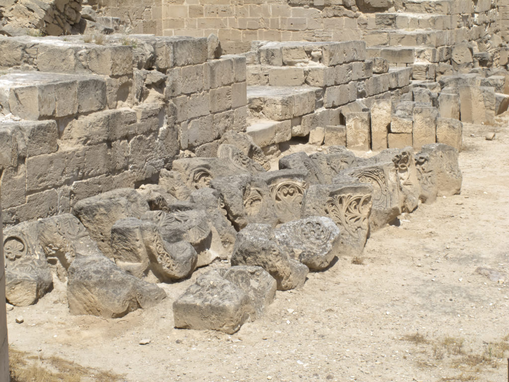 Close up of Jericho ancient City